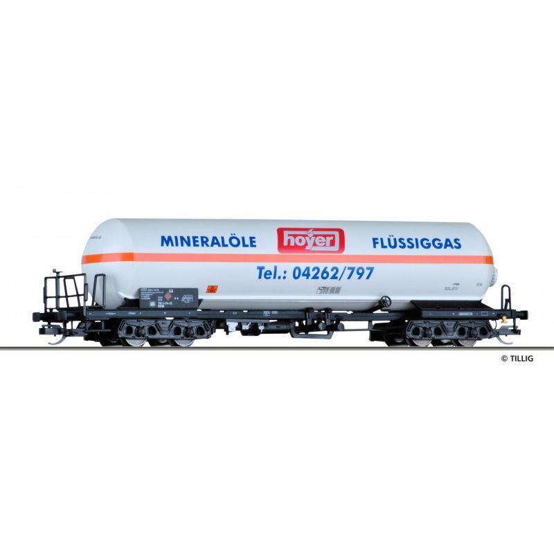 """Tillig 15030 Tartálykocsi gázszállító """"Hoyer KG"""", DB AG V"""