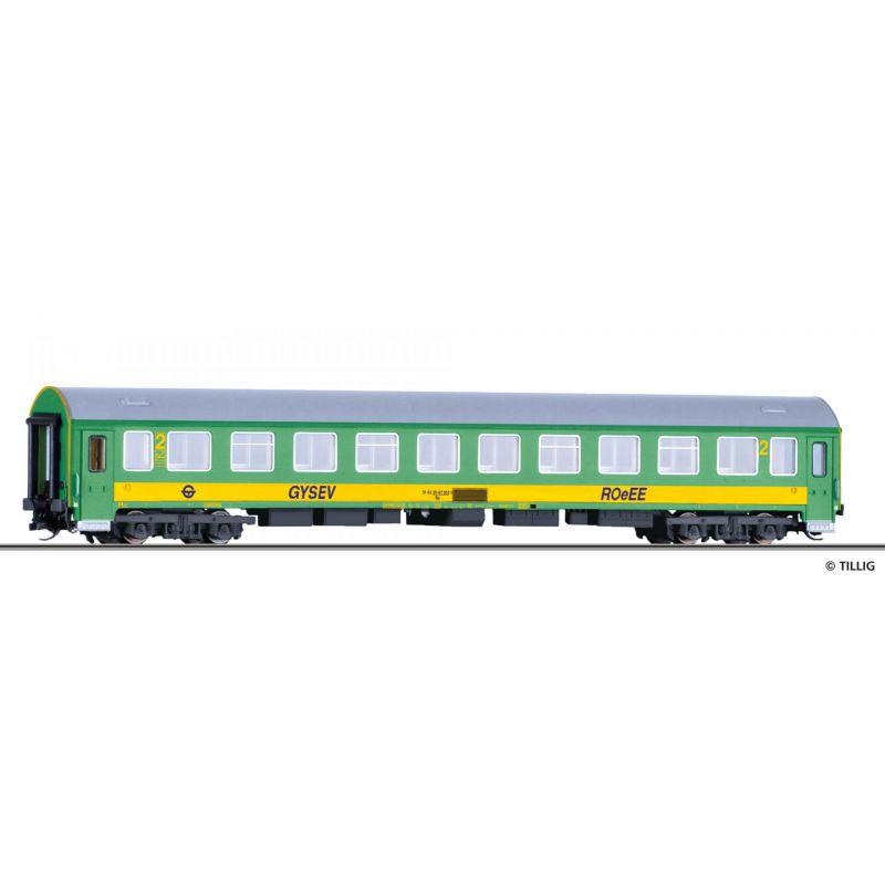 Tillig 16689 Személykocsi 2.o. Bp, ROeEE, Y/B 70, GySEV VI
