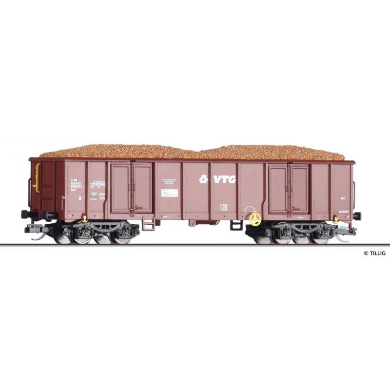 Tillig 18222 Nyitott teherkocsi Eaos, VTG, AAE Cargo VI