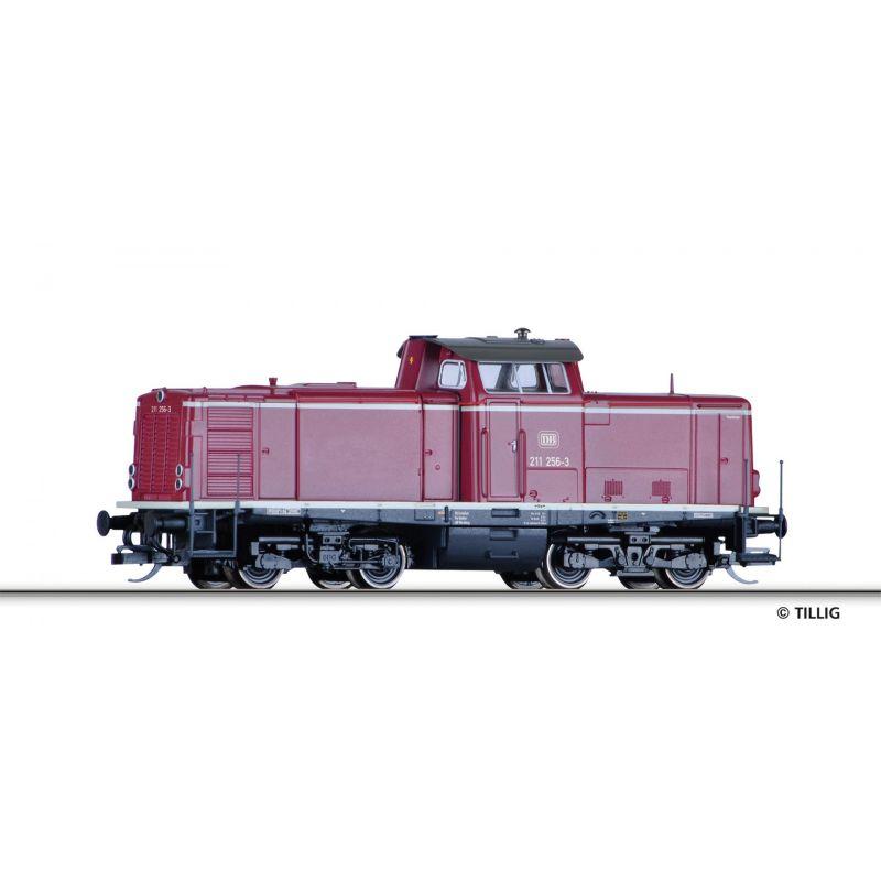 Tillig 501596 Dízelmozdony BR 211 256-3, DB IV