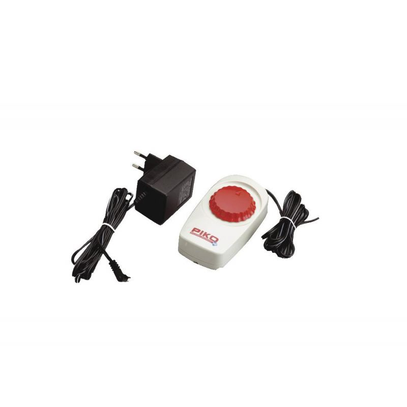 Piko 55003 Transzformátor adapter  menetszabályzóval Piko analóg rendszerhez