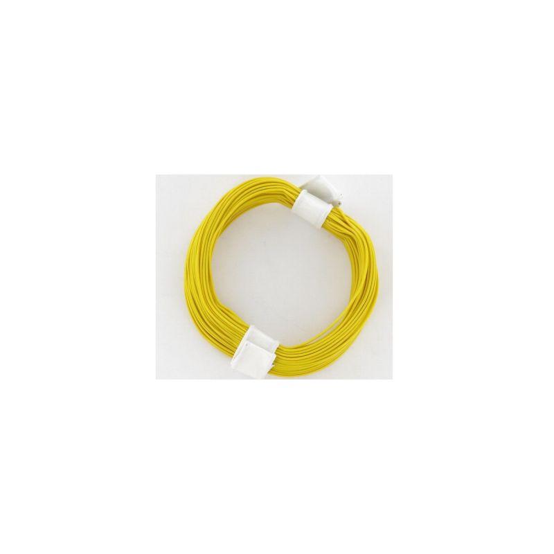 Brawa 32401 Vezeték dekóderhez, sárga
