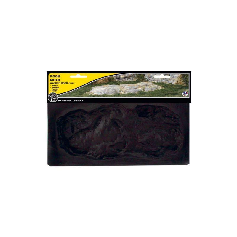 Woodland C1242 Rock Mold szikla öntőforma, Washed Rock