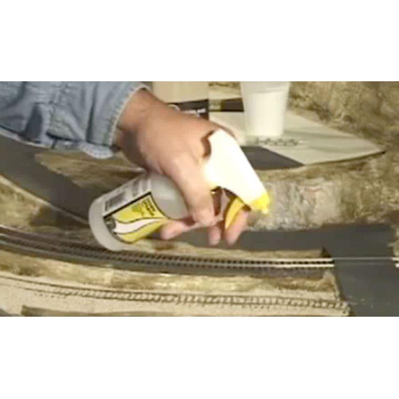 Woodlands S191  Scenic Cement szóróanyag-ragasztó, szóróflakonhoz
