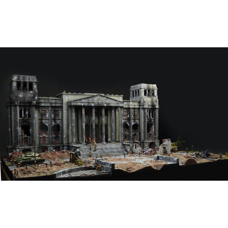 ITALERI 6195 Csata a Reichstag-ért dioráma szett, 1:72
